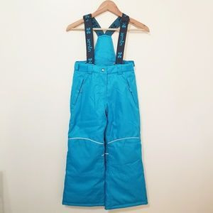 xmtn Snow Pants Removable Overalls Kids Size 7/8